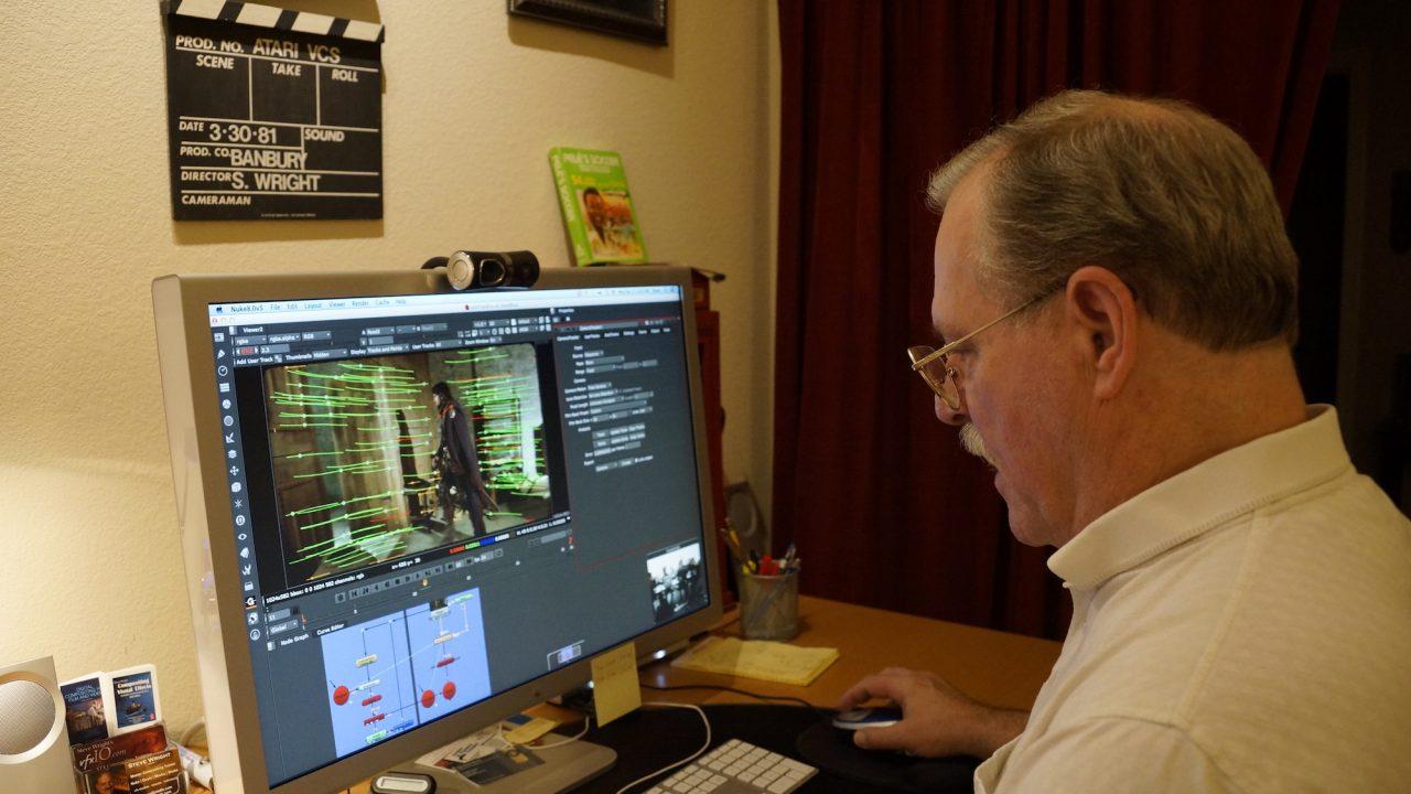 Steve Wright, online mentoring