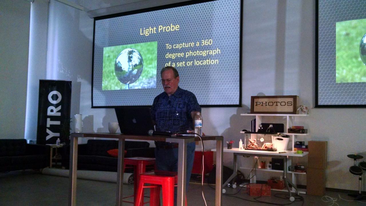 Teaching on site at Lytro, Inc