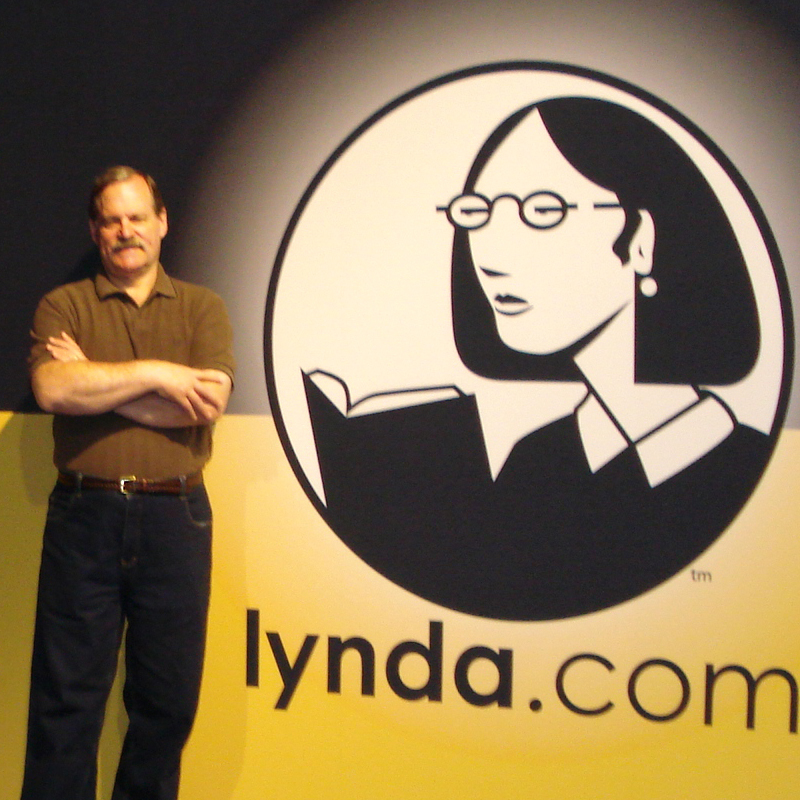 Steve Wright teaches Nuke online through his self-paced courses at Lynda.com